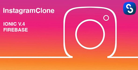 InstagramClone - Ionic V.4  & Firebase