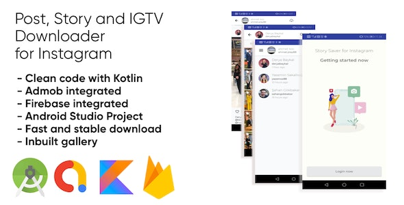 Post, Story and IGTV Downloader for Instagram - CodeCanyon Item for Sale