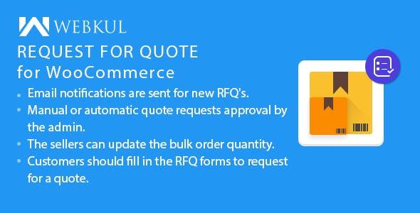 WooCommerce Multi Vendor Request for Quote