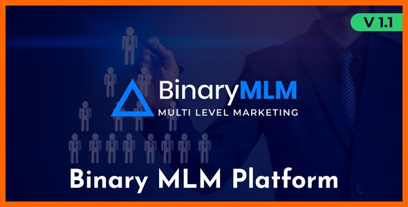 BinaryMLM - Binary MLM Platform