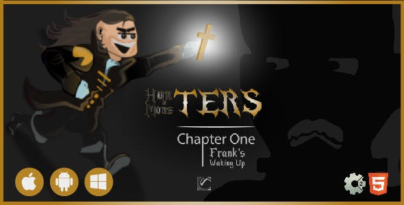 Hunters & Monsters: Frank's Waking Up • HTML5 + C2 Game • Ch. One