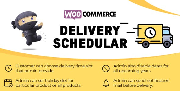 WooCommerce Delivery Schedular - Delivery Date & Time Slots