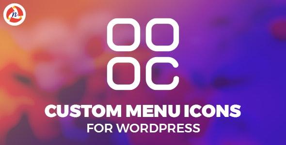 Custom Menu Icons - CodeCanyon Item for Sale