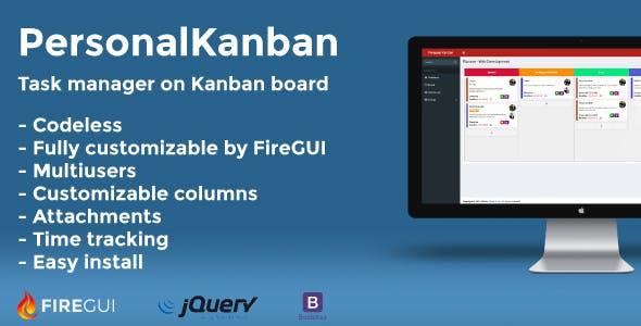 Personal Kanban Board - FireGUI Customizable