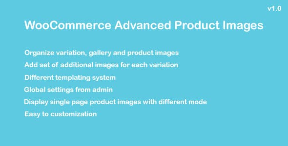 WooCommerce Advanced Product Images