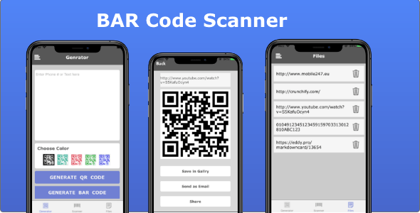 BAR Code Scanner - CodeCanyon Item for Sale