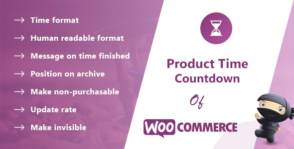 Product Time Countdown for WooCommerce Pro - CodeCanyon Item for Sale