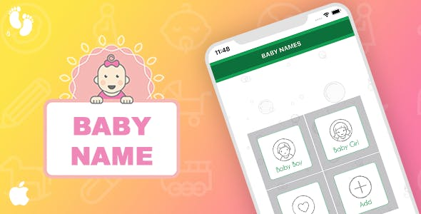 Baby Name Template for iOS