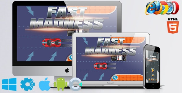 Fast Madness - CodeCanyon Item for Sale