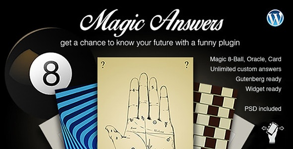 Magic Answers plugin - CodeCanyon Item for Sale