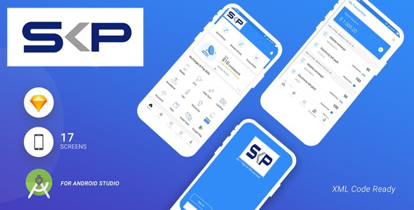 SKOPaywallet- Android Studio UI Kit - CodeCanyon Item for Sale