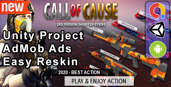 Call Of Cause (Unity Complete  Admob + iOS+Android)
