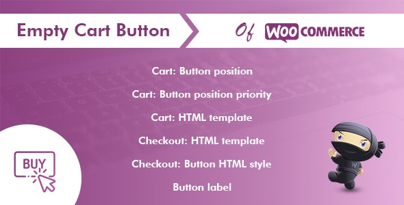 Empty Cart Button Pro for WooCommerce - CodeCanyon Item for Sale