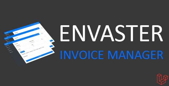 Envaster - Invoice Manager - CodeCanyon Item for Sale