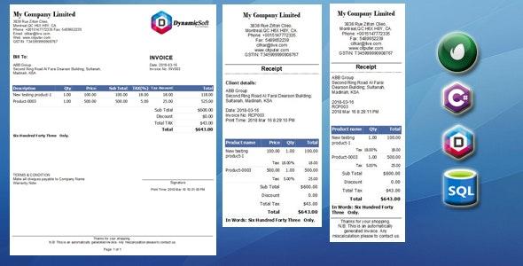 Invoice Generator - Simple Invoice Creator - CodeCanyon Item for Sale