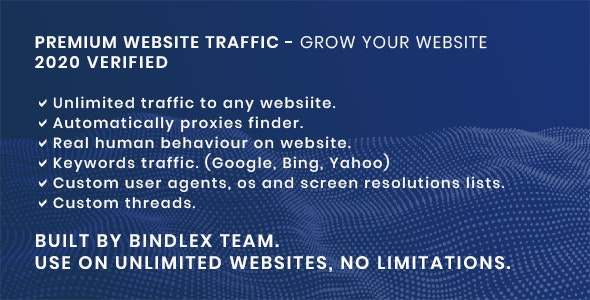 Premium Website Traffic 2.0 | Gain visitors for your website - CodeCanyon Item for Sale
