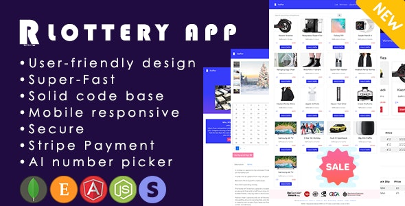 Raffler Backend – Best Web App for Competitions | Lottery | Giveaways | Raffles - CodeCanyon Item for Sale