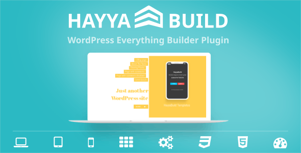 HayyaBuild - WordPress Everything Builder Plugin