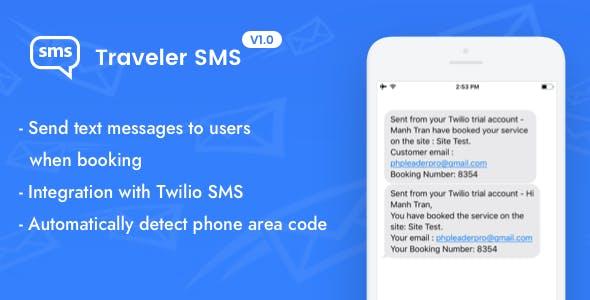 Traveler SMS (Add-on)