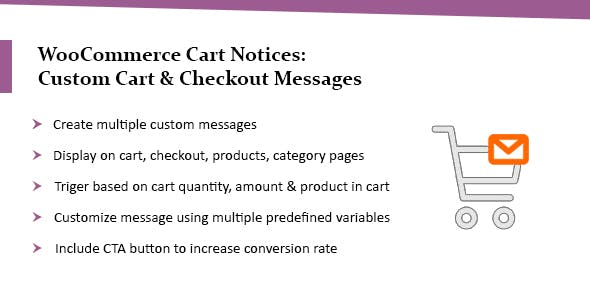 WooCommerce Cart Notices: Custom Cart & Checkout Messages