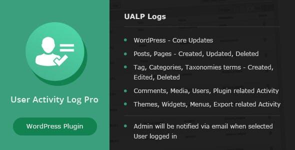 User Activity Log PRO for WordPress
