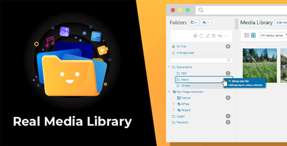 WordPress Real Media Library: Folder & File Manager for WordPress Media Management