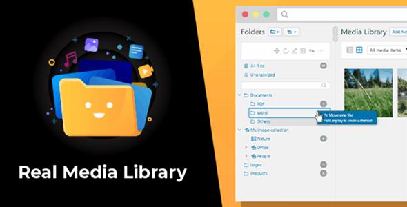 WordPress Real Media Library: Folder & File Manager for WordPress Media Management