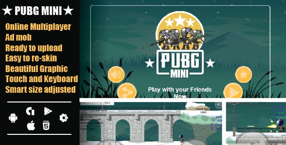 Pubg mini multiplayer v2.0