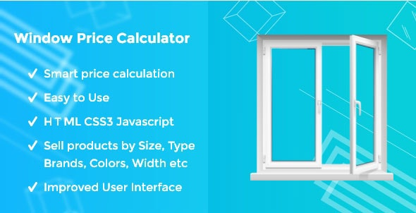Window Price Calculator - CodeCanyon Item for Sale