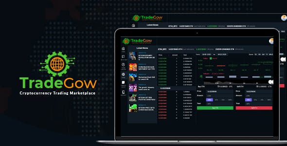 TradeGow - Cryptocurrency Trading Marketplace
