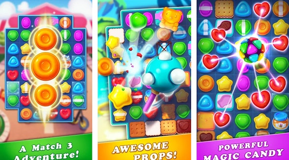 candy match 3 color game - CodeCanyon Item for Sale