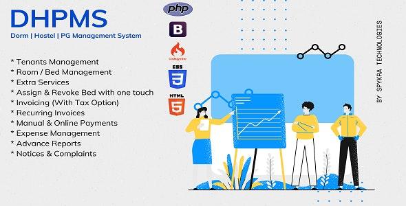 DHPMS - Dorm, Hostel & PG Management System