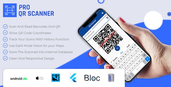 Flutter PRO QR Code Scanner