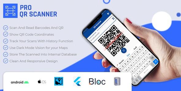 Flutter PRO QR Code Scanner - CodeCanyon Item for Sale