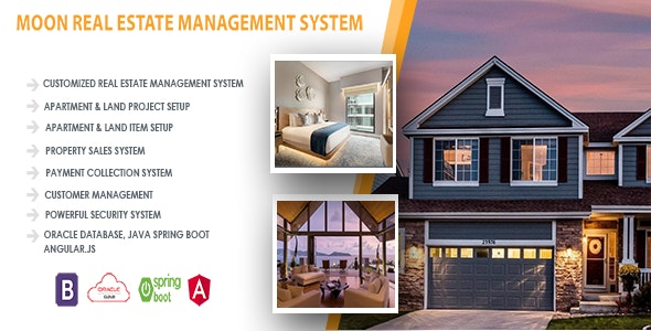 Moon Real Estate Management System - CodeCanyon Item for Sale