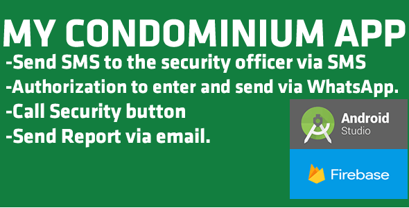 My Condominium Send help SMS to your security officer.