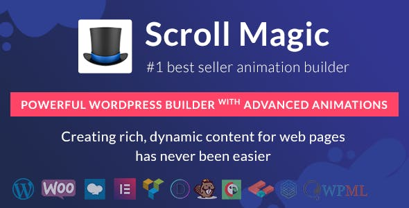 Scroll Magic - WordPress Builder with Advanced Animations