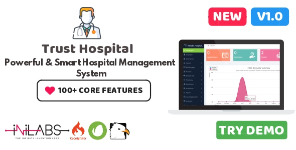 Trust Hospital Management ERP - CodeCanyon Item for Sale