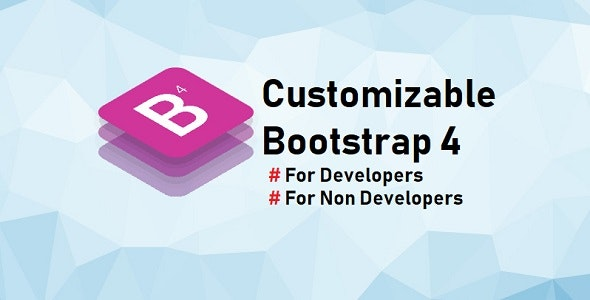 Customizable Bootstrap - CodeCanyon Item for Sale