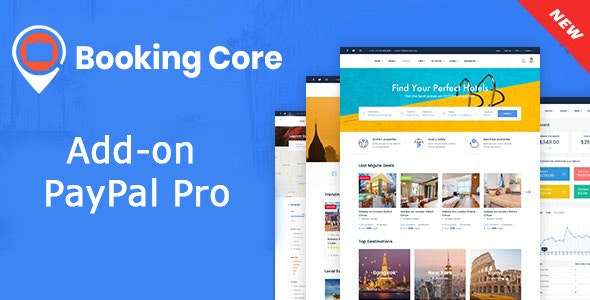PayPal Pro payment gateway for Booking Core - CodeCanyon Item for Sale