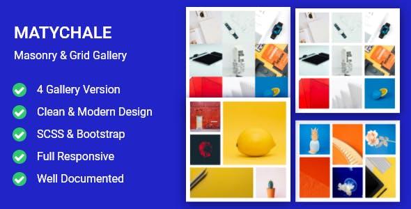Matychale-Masonry & Grid Gallery