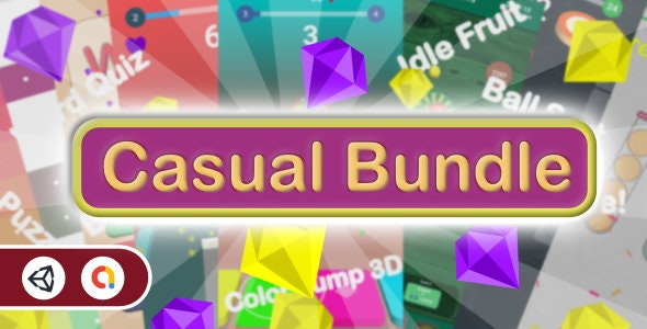 Casual Bundle Games - 7 Games(Unity Complete+Admob+Android+iOS) - CodeCanyon Item for Sale