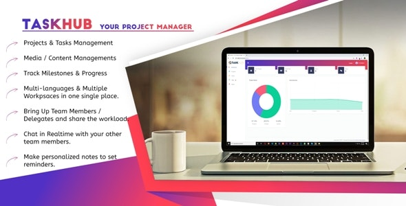 Taskhub - Your Project Management Tool - CodeCanyon Item for Sale