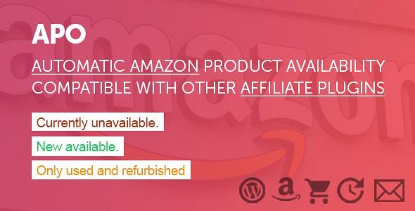 APO - Automatic Amazon Affiliate Product Availability Plugin for WordPress