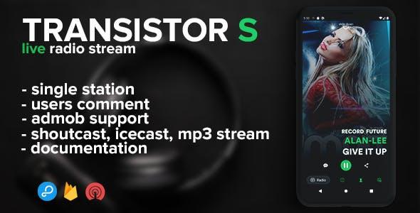 Transistor S - live radio (android)