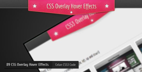 CSS3 Overlay Hover Effects Vol:1