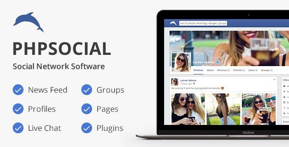 phpSocial v4.1 – Social Network Platform – nulled