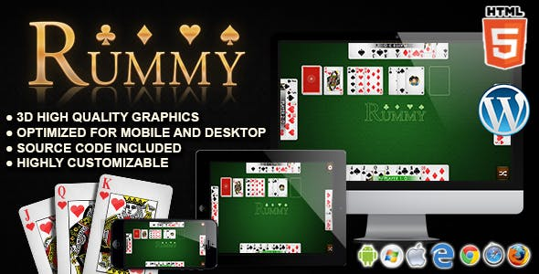 Rummy - HTML5 Card Games