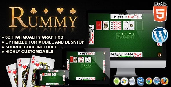 Rummy - HTML5 Card Games - CodeCanyon Item for Sale