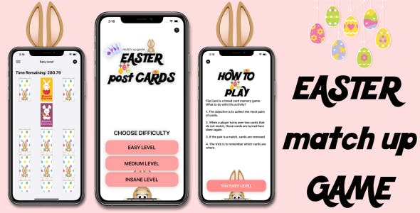 'Easter post cards' - Full iOS Application